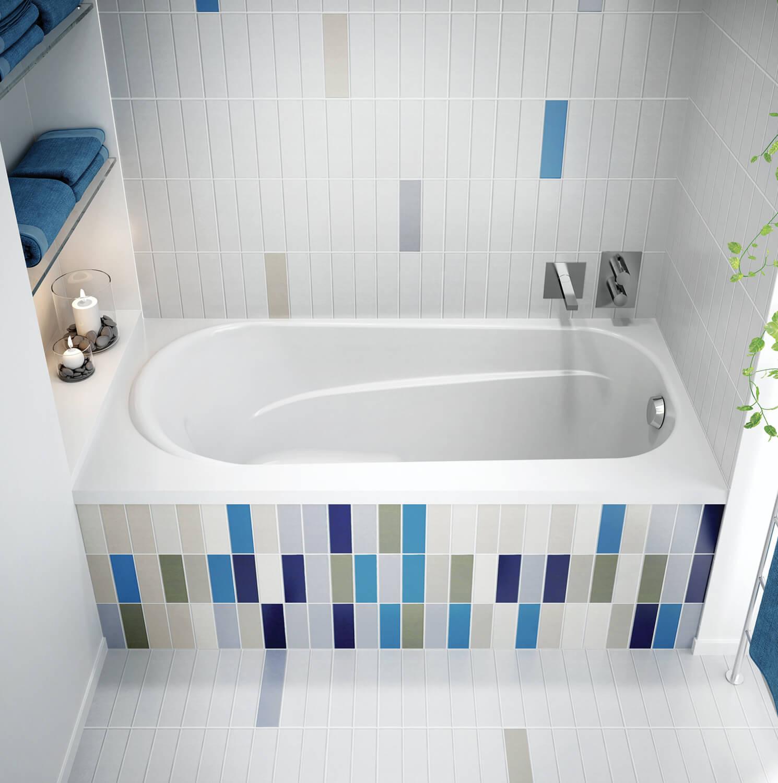 Bainultra Amma® 6030 alcove air jet bathtub for your modern bathroom