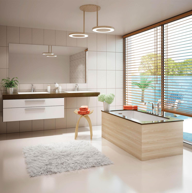 Monarch 6030 air jet bathtub for your modern bathroom