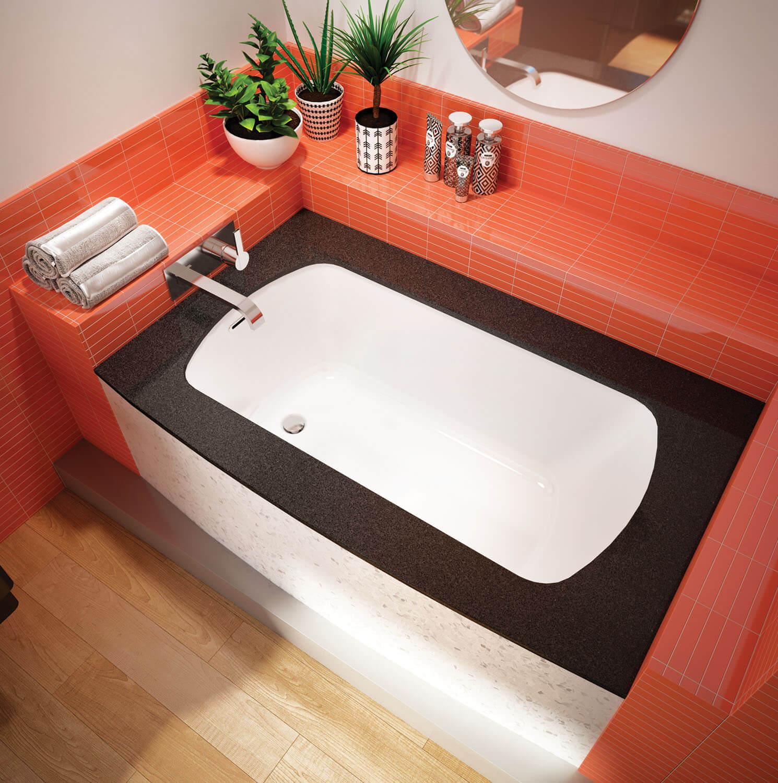 Monarch 6037L air jet bathtub for your modern bathroom