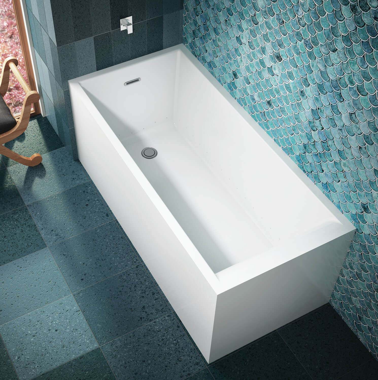 Bainultra Nokori™ 6331 freestanding air jet bathtub for your modern bathroom