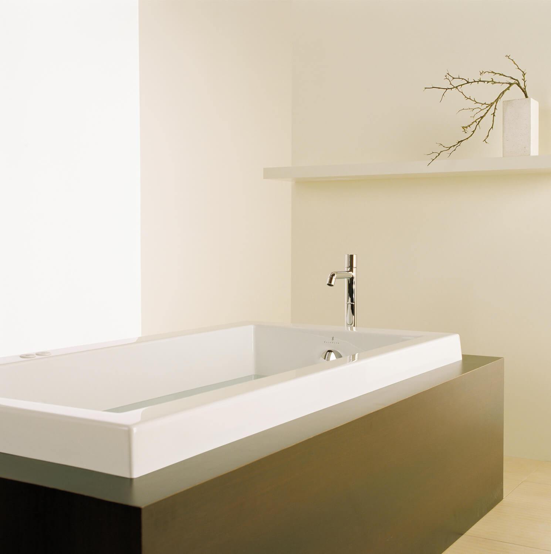Bainultra Origami® 6032 Original Series alcove drop-in air jet bathtub for your modern bathroom