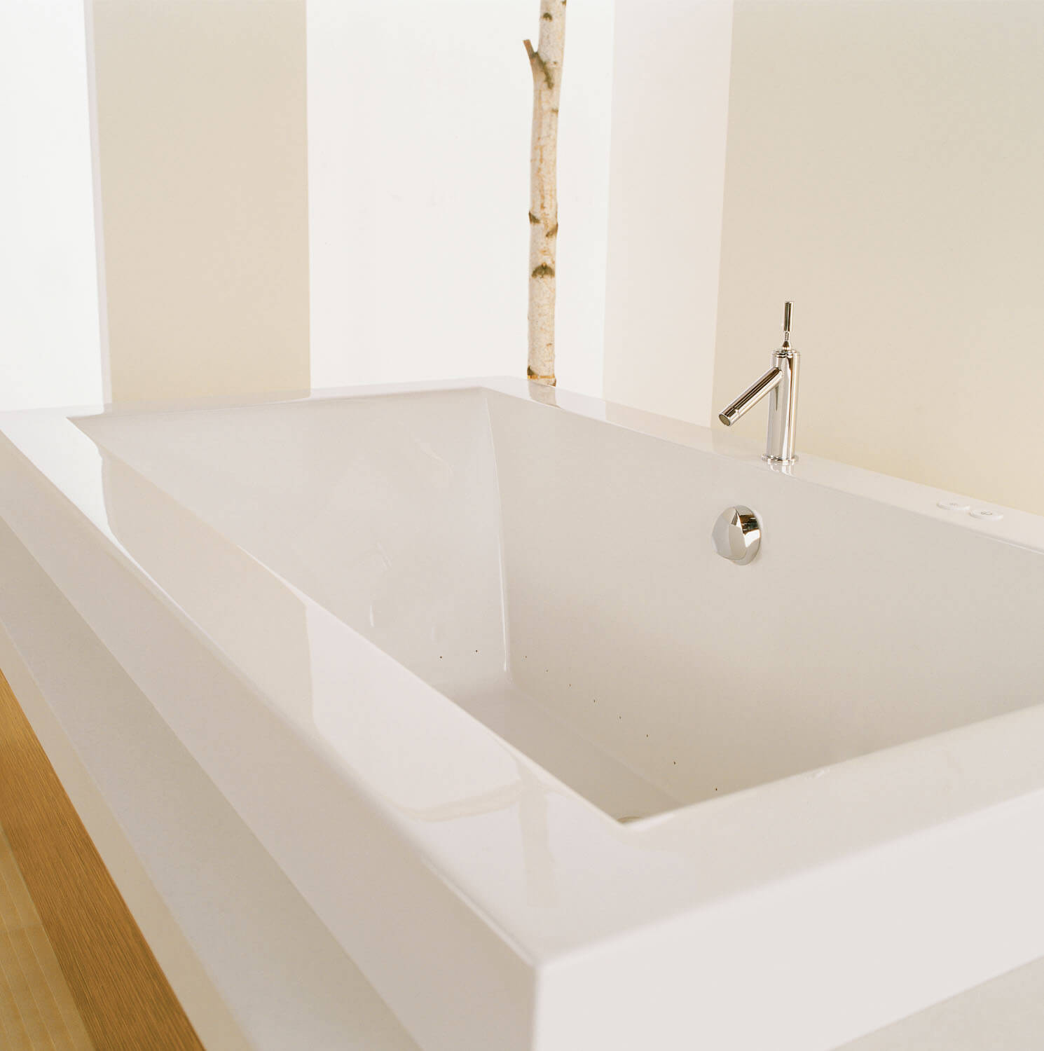 Bainultra Origami® 7236 Original Series two person large air jet bathtub for your modern bathroom