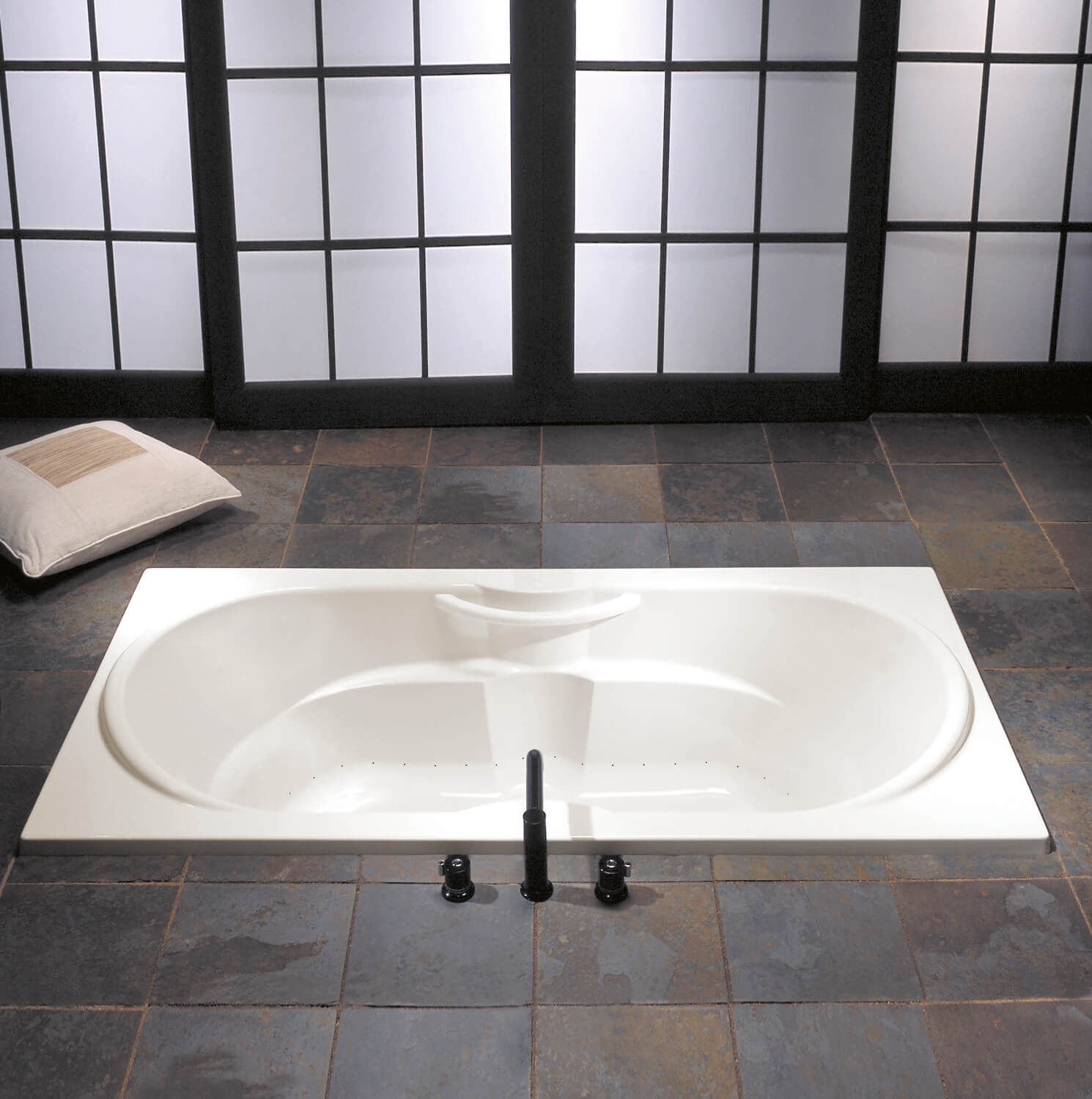 Bainultra Thermal 60 two person drop-in air jet bathtub for your modern bathroom