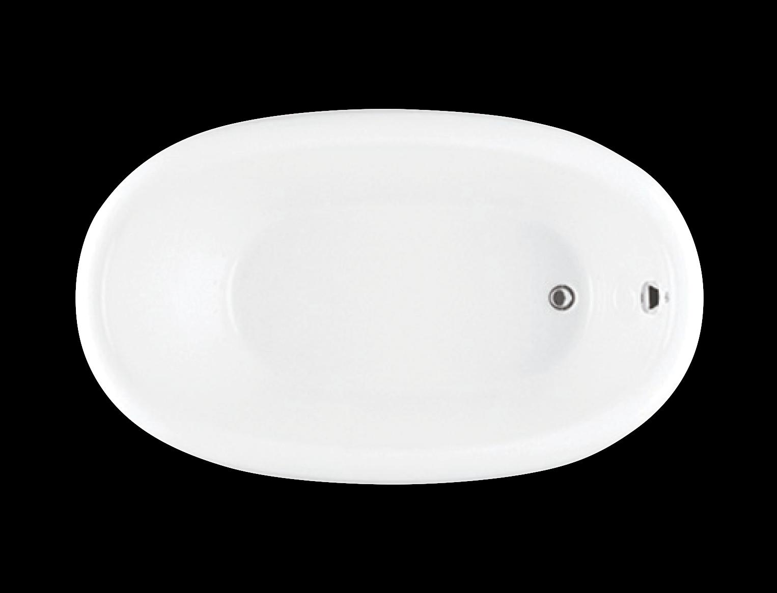 Bainultra Balneo® freestanding air jet bathtub for your modern bathroom