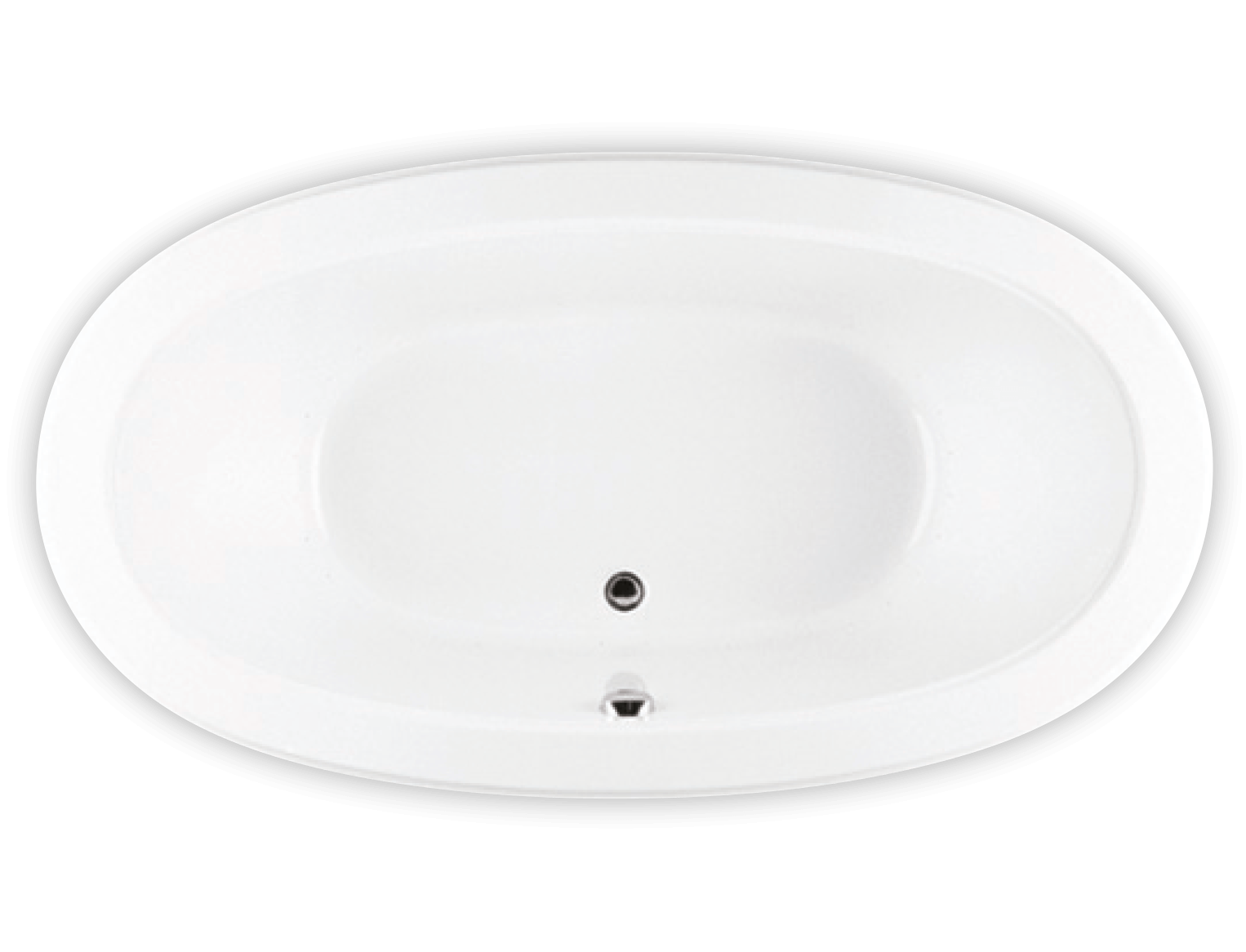 Bainultra Naos 7240 two person large pedestal air jet bathtub for your modern bathroom
