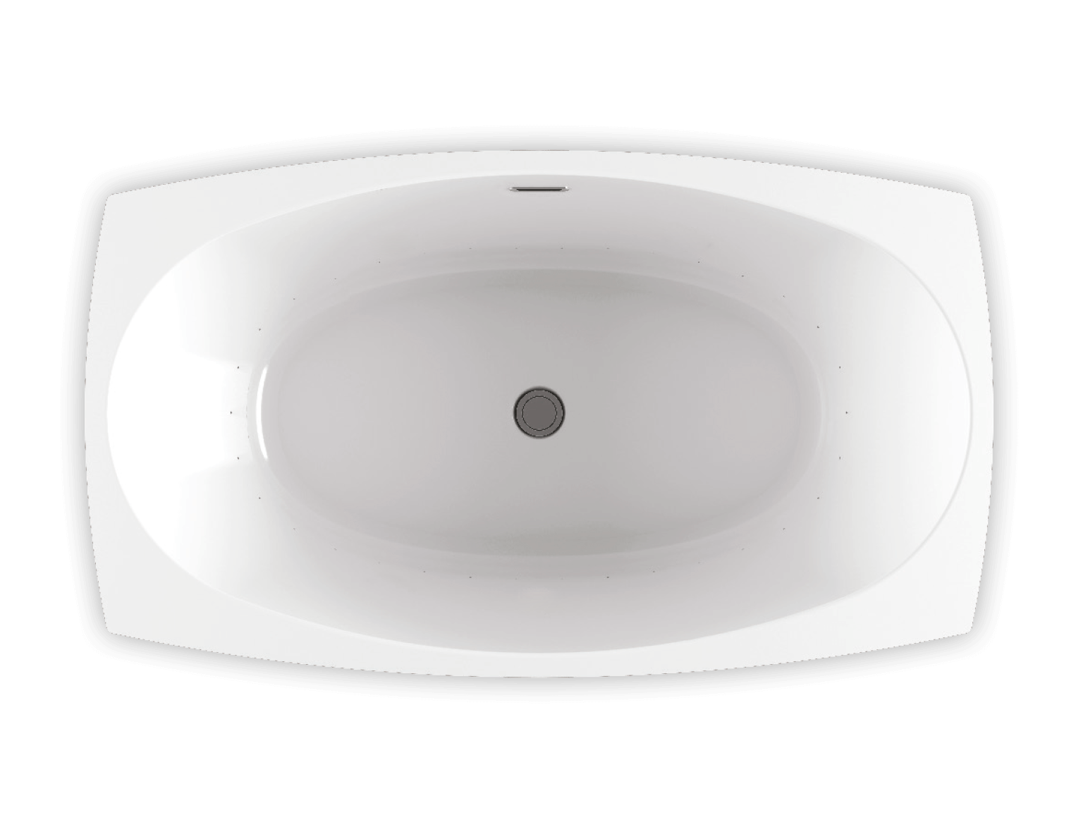 Bainultra Esthesia® freestanding air jet bathtub for your modern bathroom