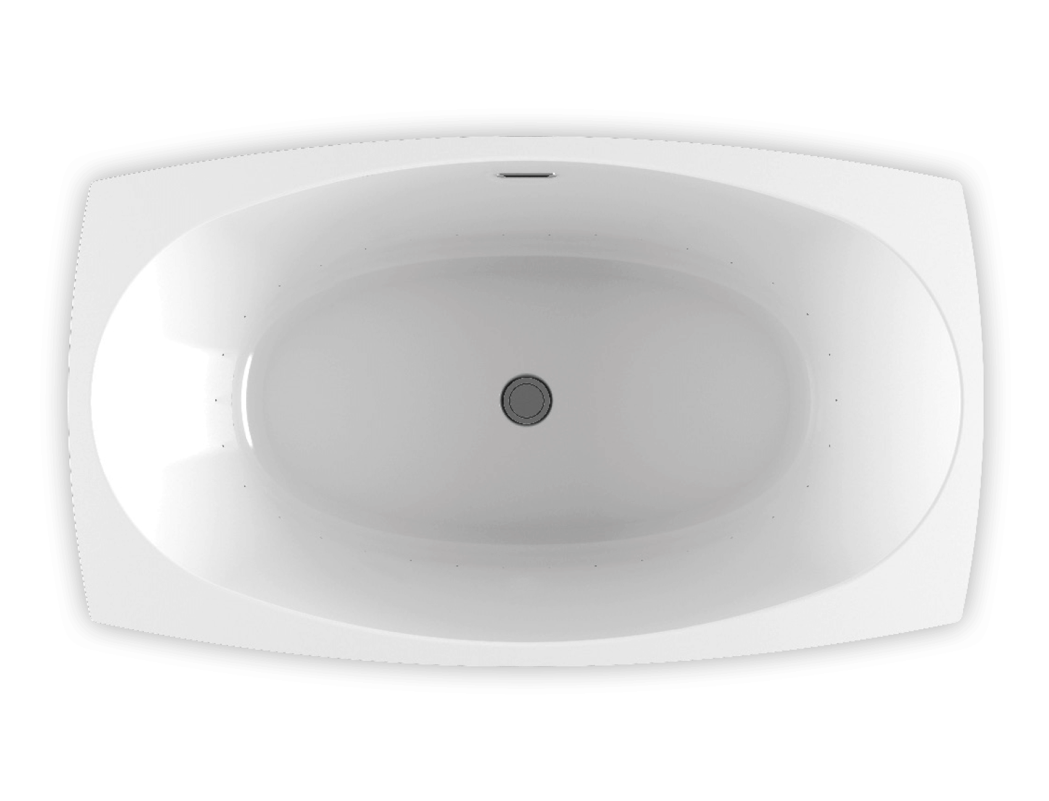 Bainultra Esthesia 6638 freestanding air jet bathtub for your modern bathroom