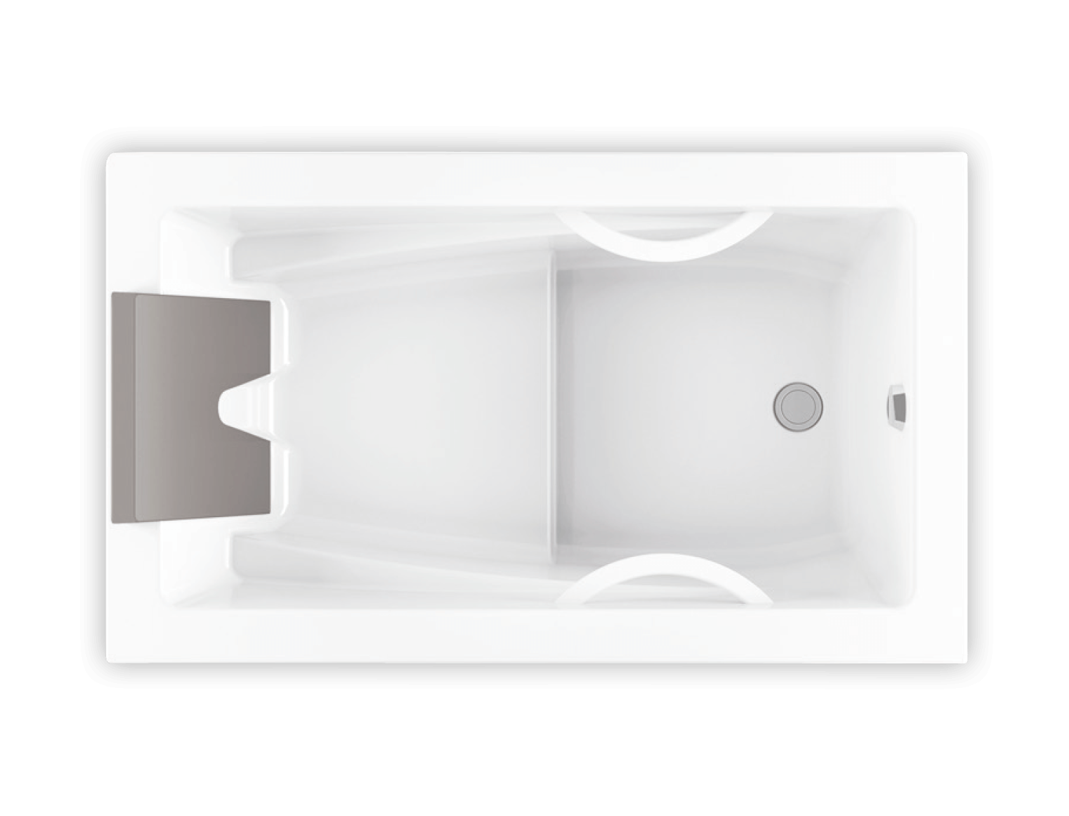 Bainultra Inua® collection drop-in air jet bathtub for your modern bathroom
