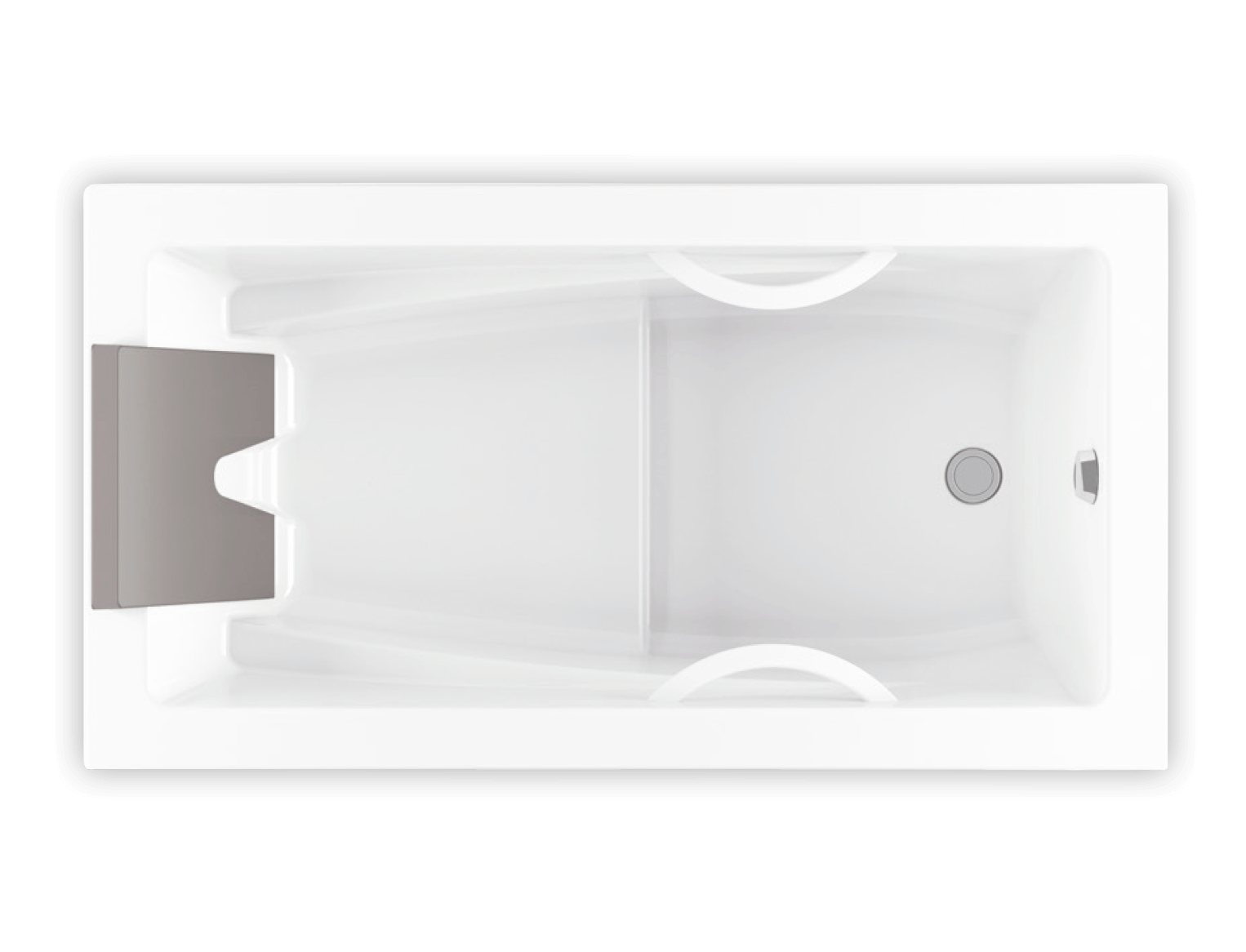 Bainultra Inua® 6636 drop-in air jet bathtub for your modern bathroom