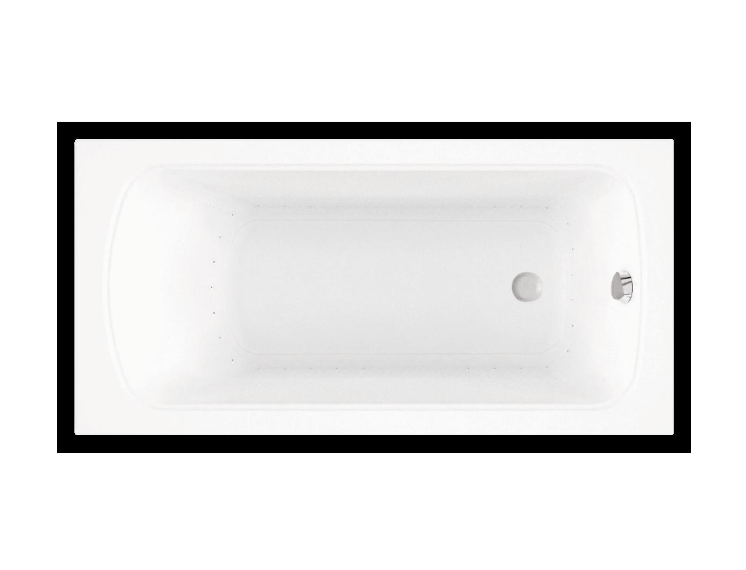 Bainultra Meridian® collection freestanding alcove air jet bathtub for your modern bathroom