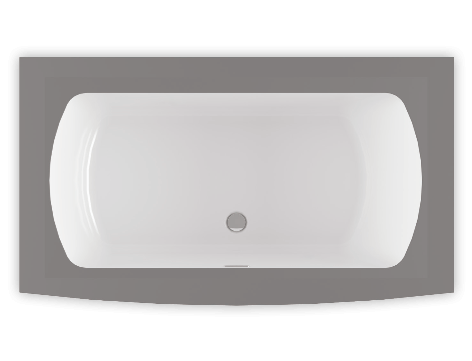 Monarch 6638F air jet bathtub for your modern bathroom