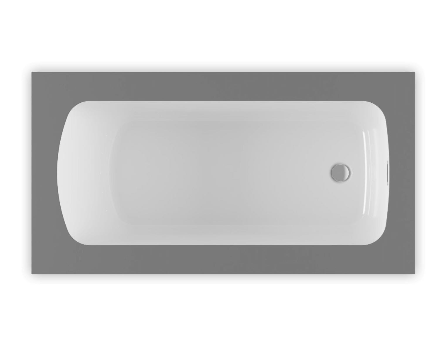 Monarch 6030 air jet bathtub for your modern bathroom