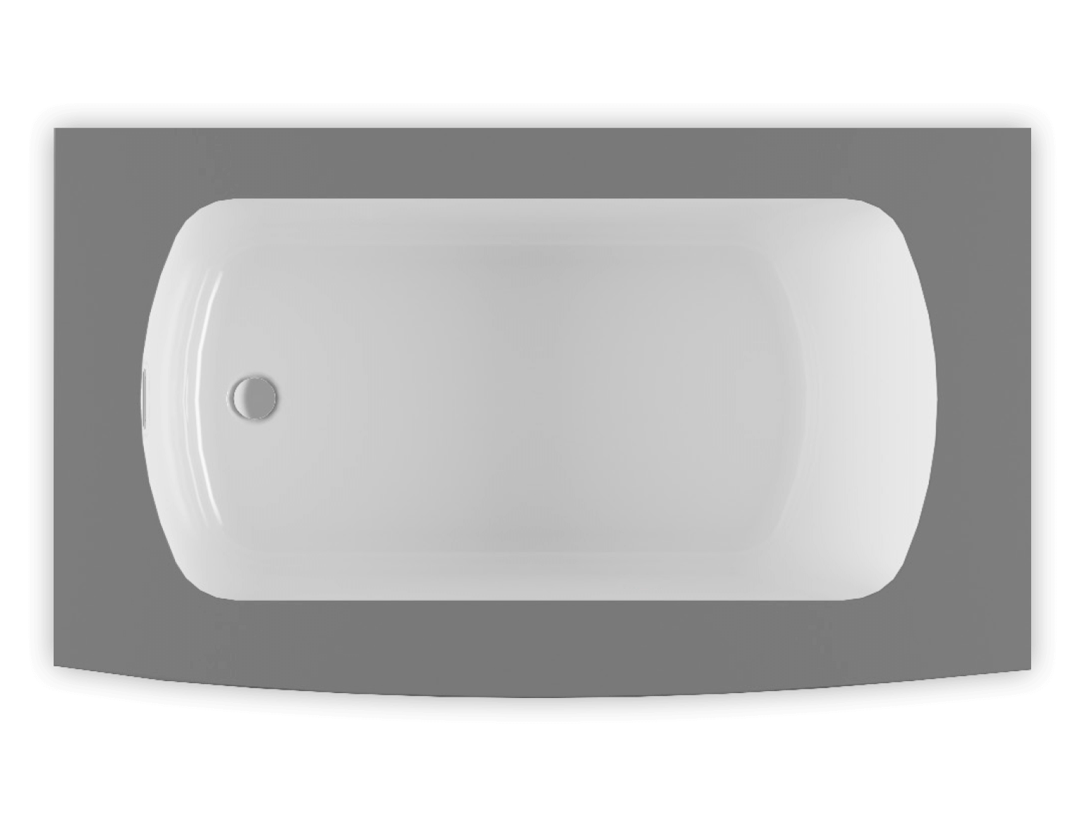 Monarch 6037L air jet bathtub for your modern bathroom