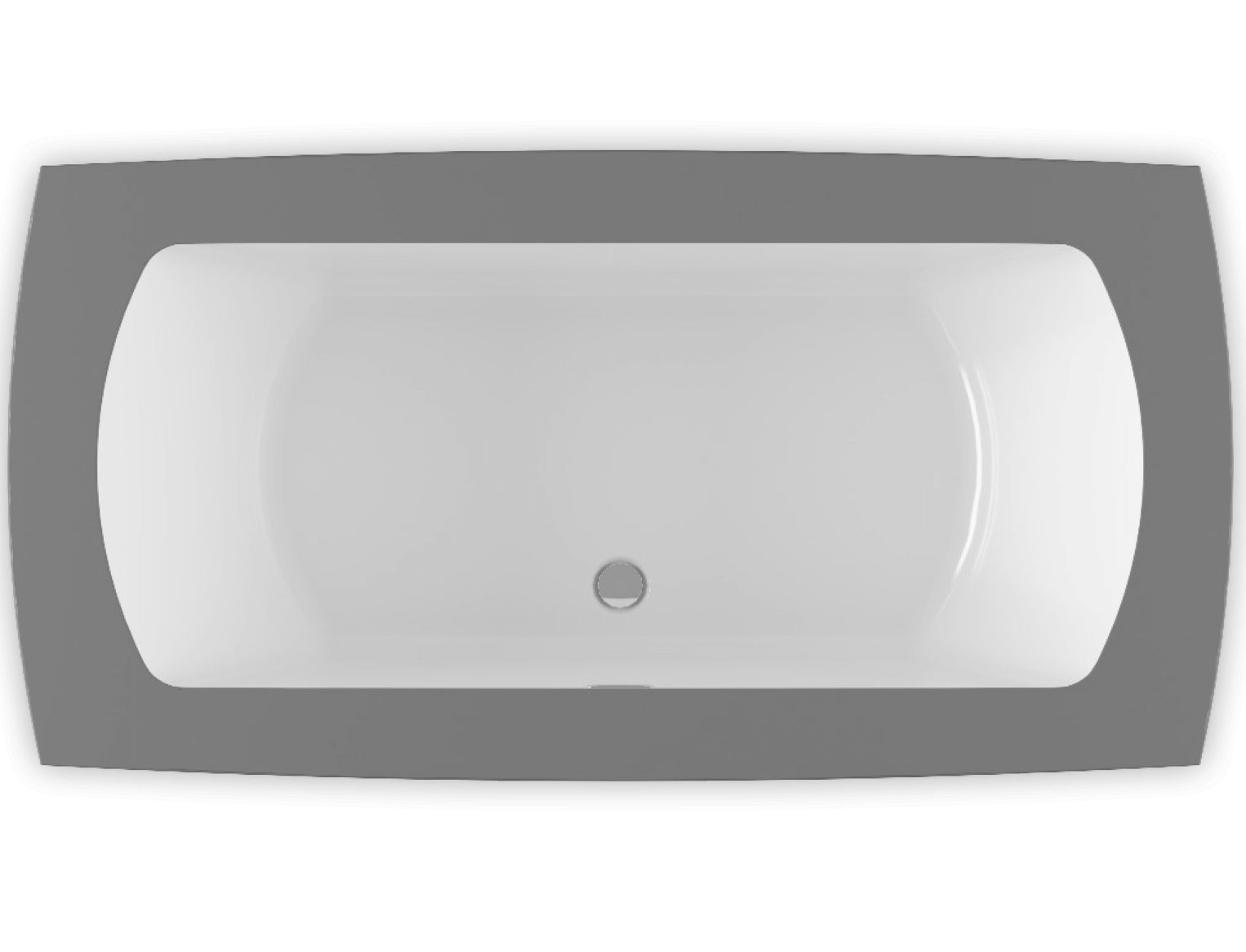 Monarch 6938C air jet bathtub for your modern bathroom