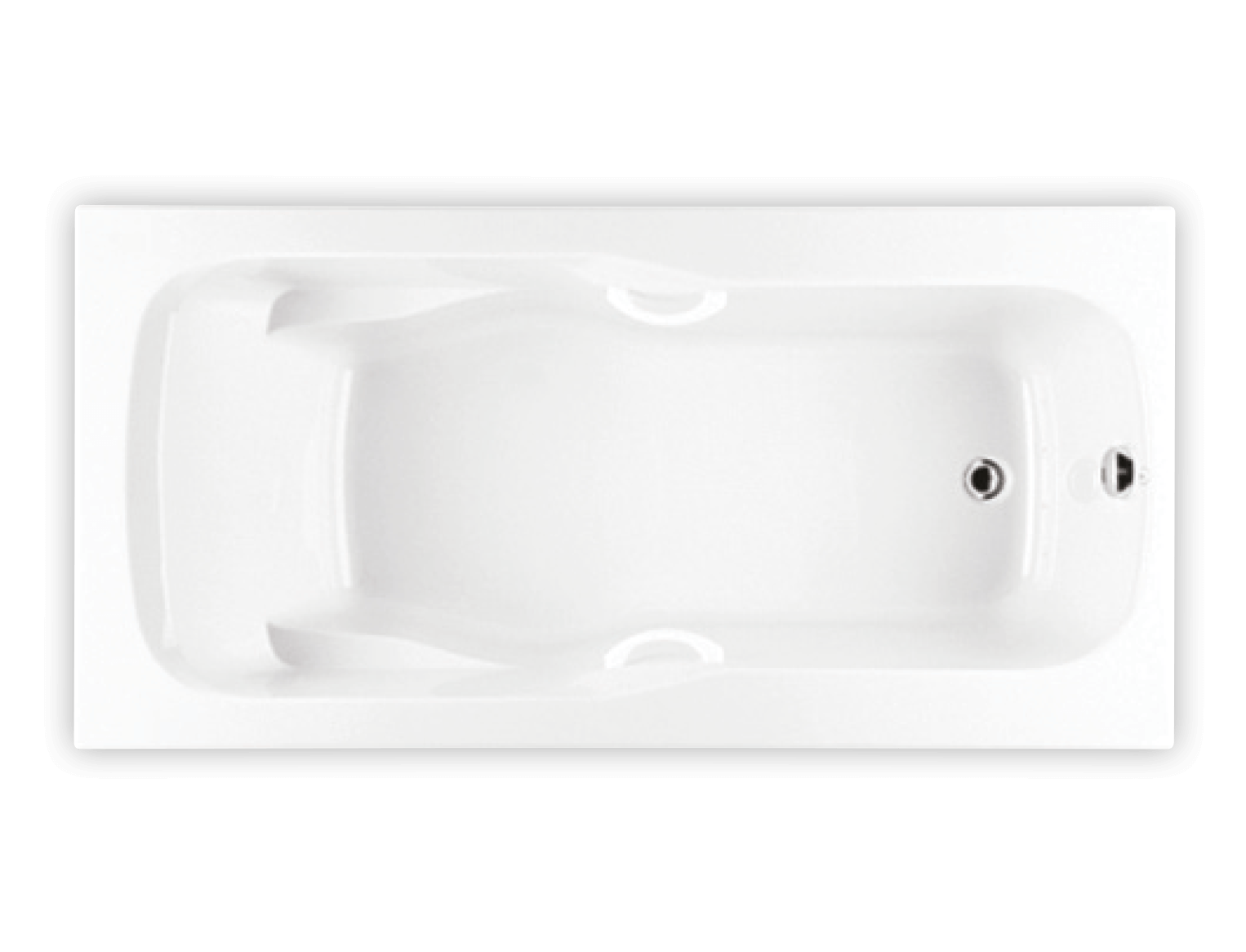 Bainultra Thalassa 50 alcove drop-in air jet bathtub for your modern bathroom