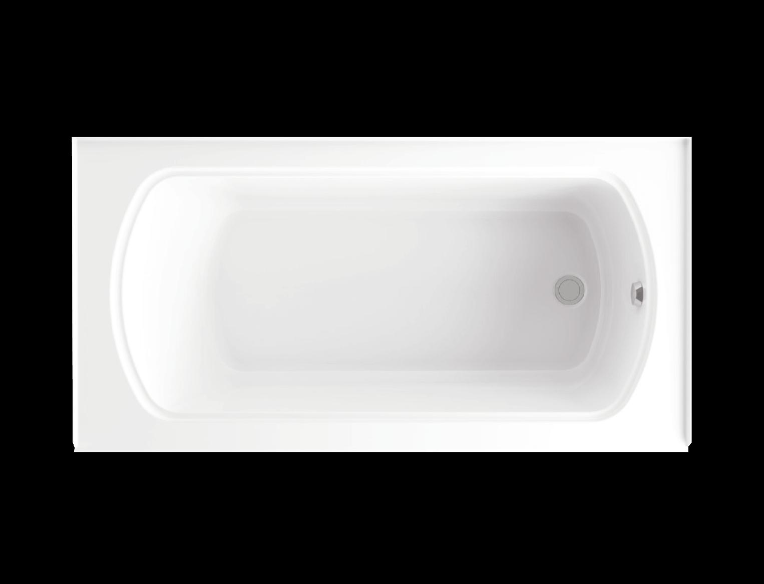 Bainultra Meridian® DUO alcove air jet bathtub for your modern bathroom