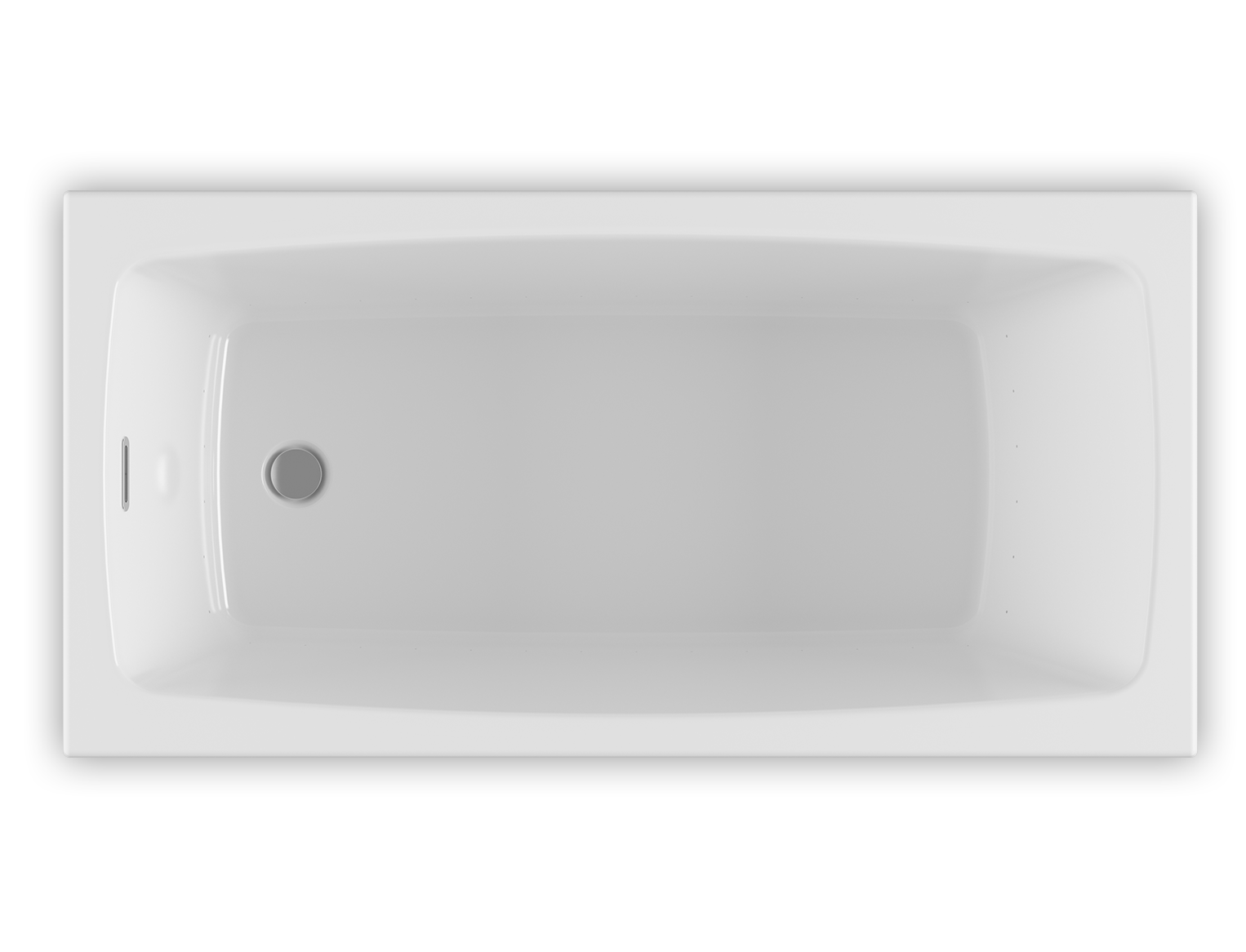 Bainultra Vibe® 6030 Drop-in Alcove air jet bathtub for your modern bathroom