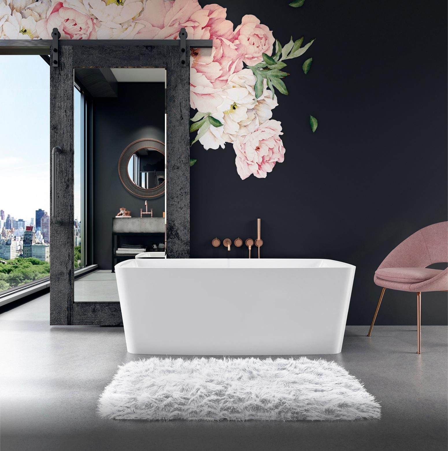 Bainultra Vibe® freestanding bathtub to match the perfect vibe