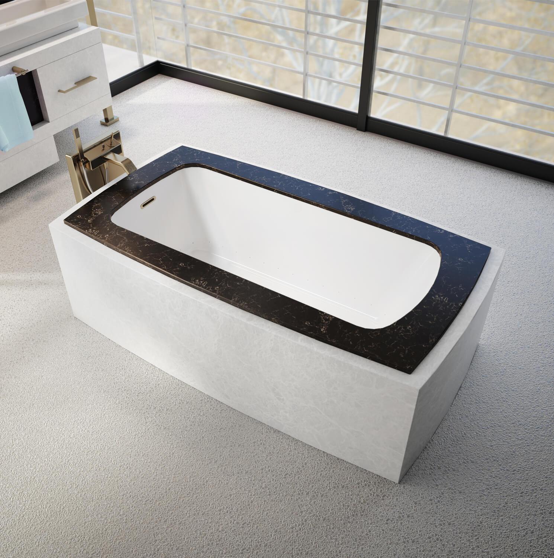Monarch 6233C air jet bathtub for your modern bathroom