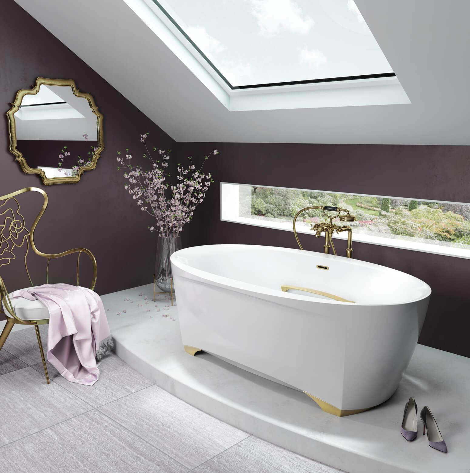 Scala 6638 air jet bathtub for your modern bathroom