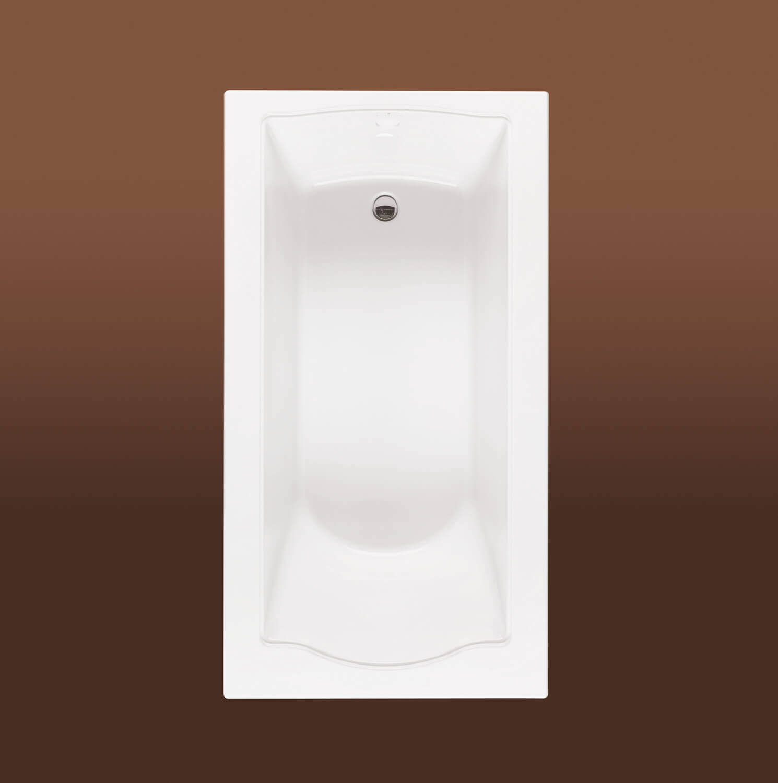 Bainultra Elegancia 6032 alcove drop-in air jet bathtub for your Victorian bathroom
