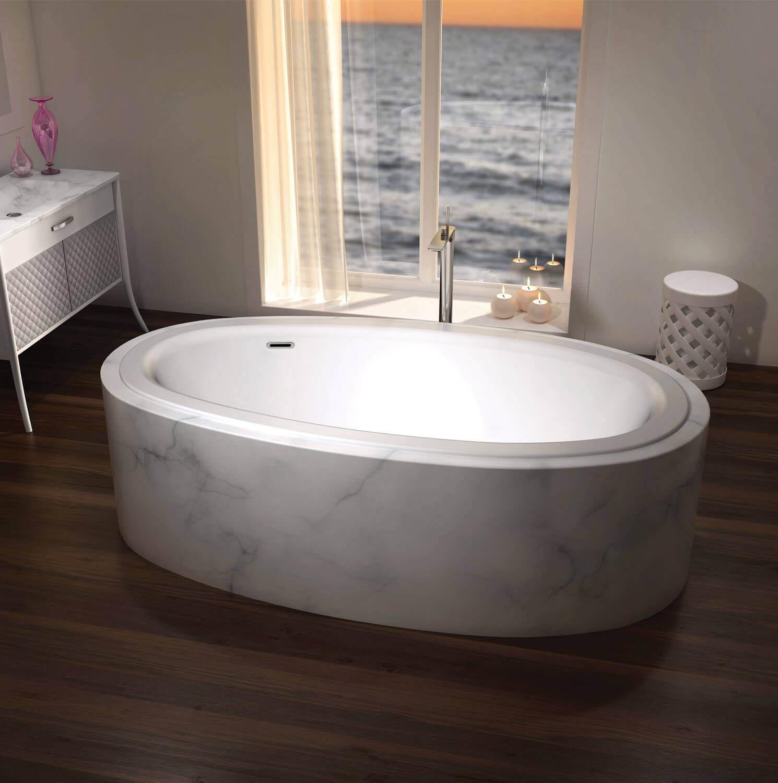 Essencia Design 7438 air jet bathtub for your master bathroom