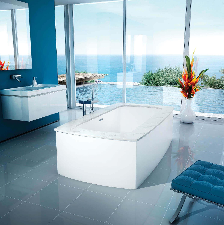 Monarch 6938C air jet bathtub for your modern bathroom