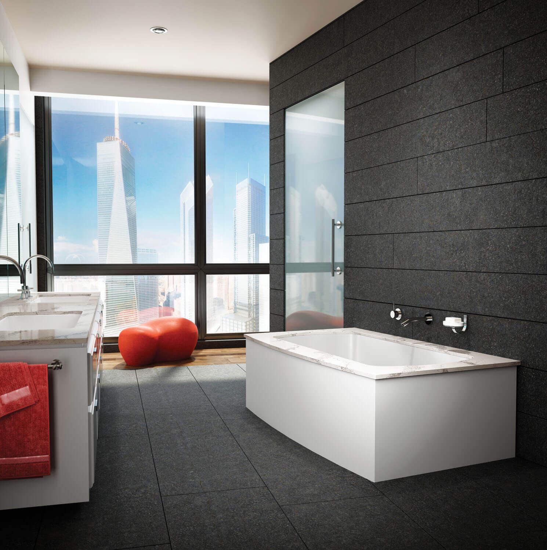 Monarch 7238F air jet bathtub for your modern bathroom