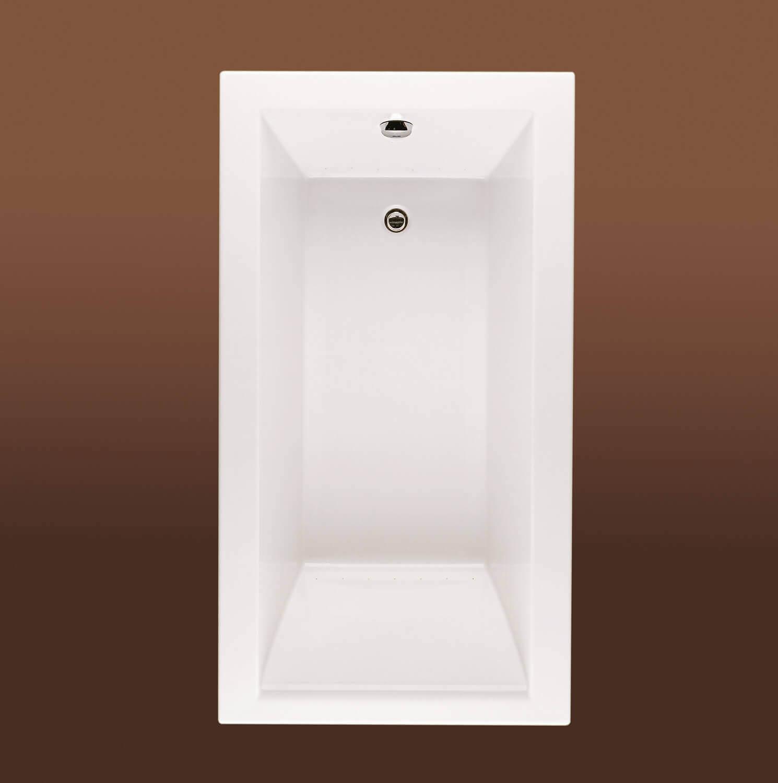 Bainultra Origami® 6030 alcove drop-in air jet bathtub for your modern bathroom