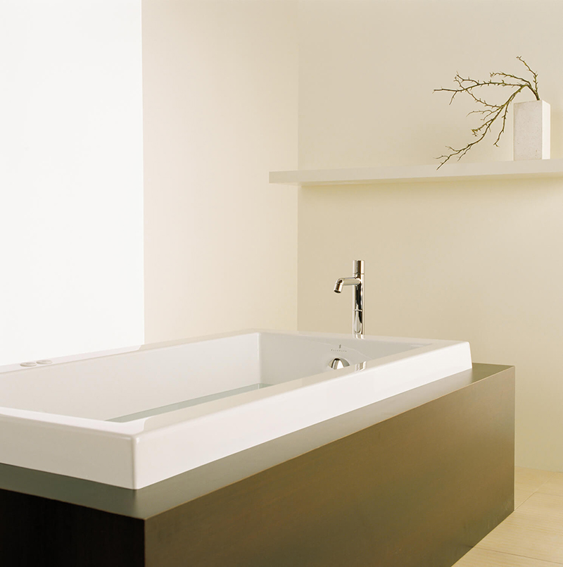 Bainultra Origami® 6032 Original Series alcove drop-in air jet bathtub for your modern bathroom