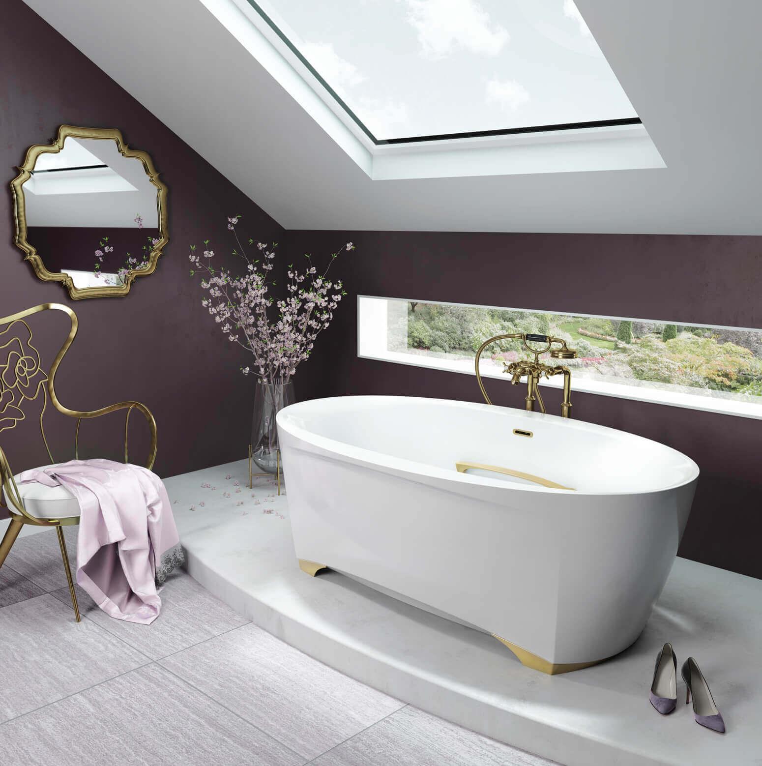 Scala 6638 air jet bathtub for your master bathroom