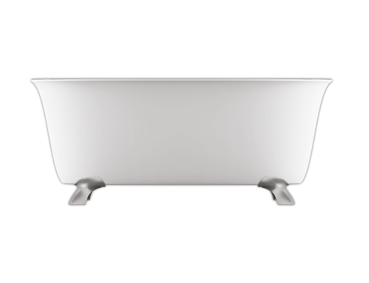 Bainultra Vibe Tulipa® 6033 Fresstanding air jet bathtub for your modern bathroom