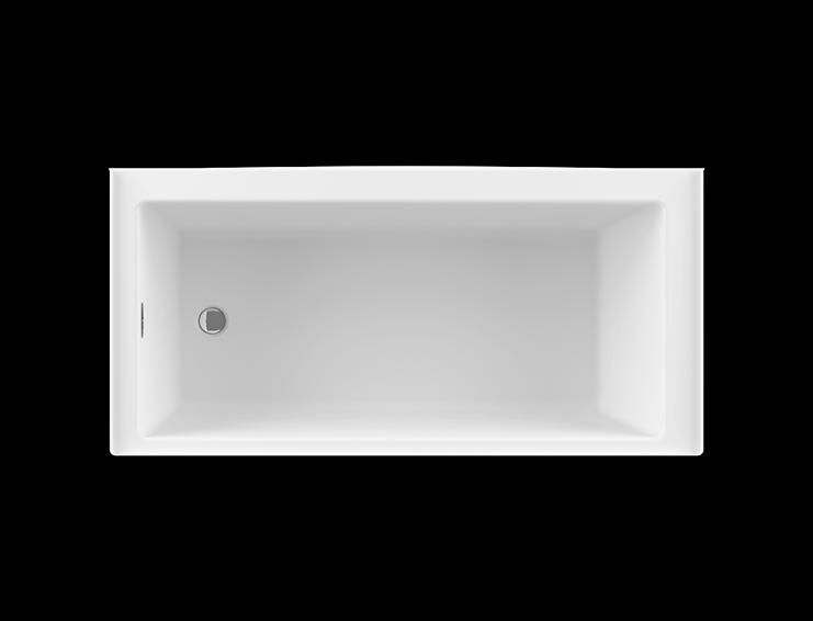 BAIN DE VILLE 6632 collection alcove air jet bathtub for your master bathroom