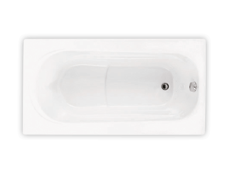 Bainultra Amma® 6030 alcove air jet bathtub for your modern bathroom