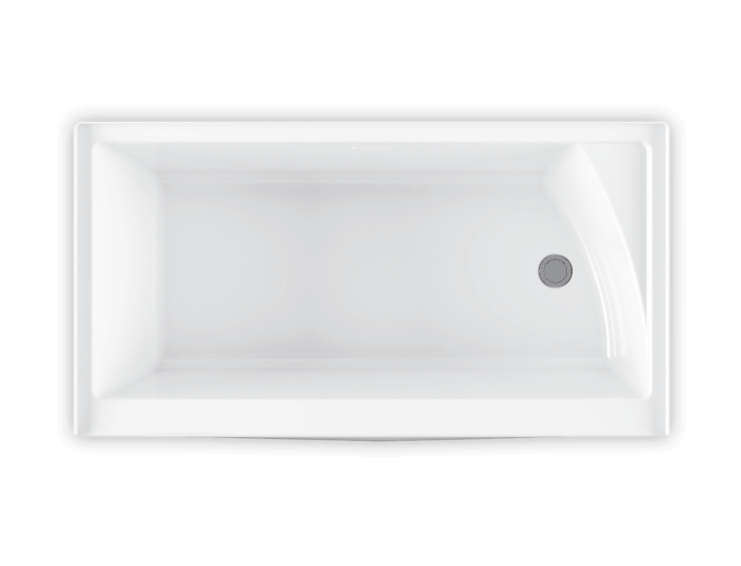 Bainultra Citti 6032 with insert alcove air jet bathtub for your modern bathroom