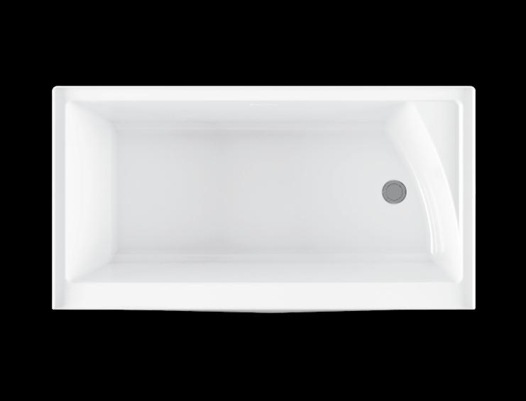 Bainultra Citti 6032 with insert alcove air jet bathtub for your modern bathroom