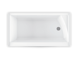 Bainultra Citti® collection freestanding alcove air jet bathtub for your master bathroom