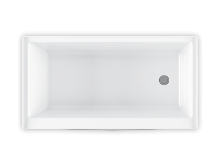 Bainultra Citti 6032 without insert alcove air jet bathtub for your modern bathroom
