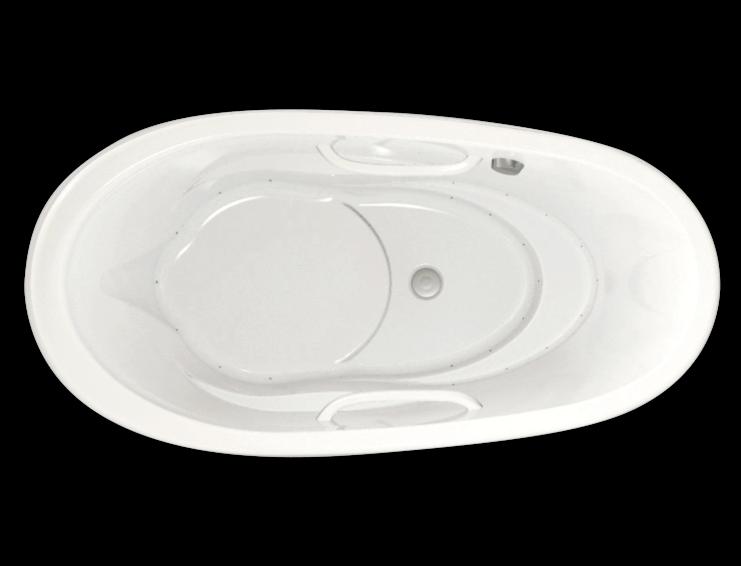 Essencia Oval 7236 air jet bathtub for your modern bathroom