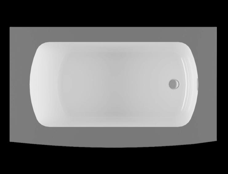 Monarch 6032R air jet bathtub for your modern bathroom