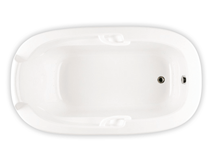 Bainultra Oval Plus drop-in air jet bathtub for your modern bathroom