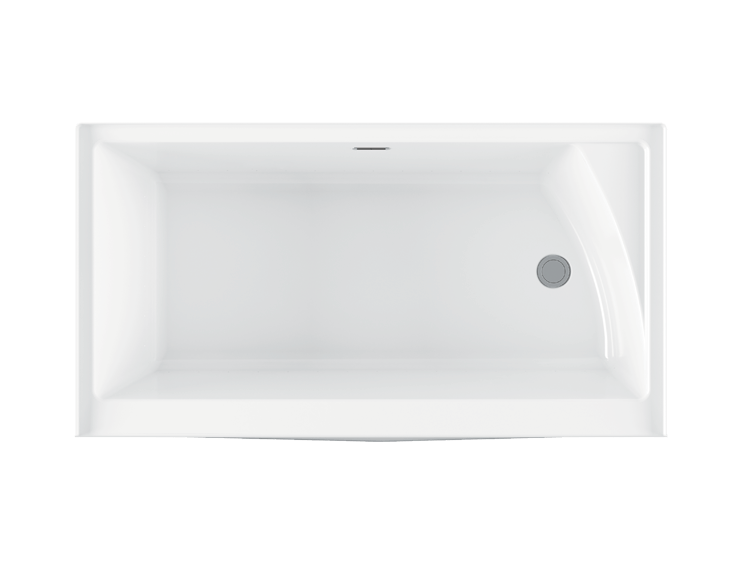 Bainultra Citti 6032 TRIO without insert alcove air jet bathtub for your master bathroom