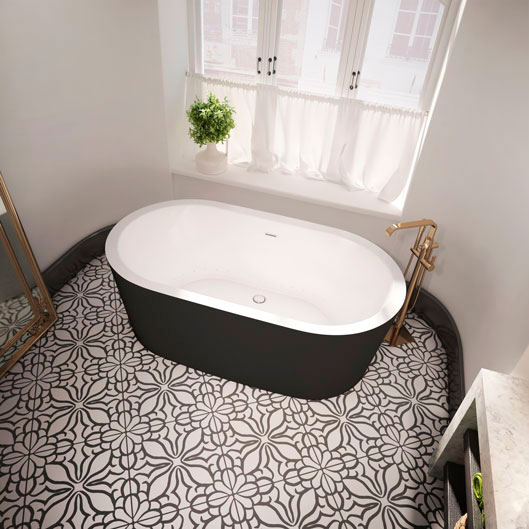 Nokori oval freestanting bathtub