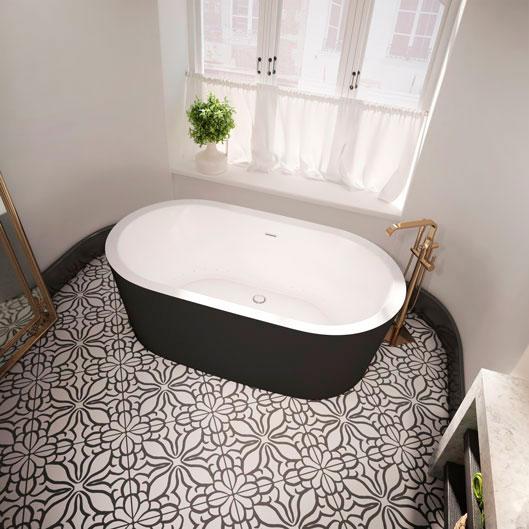 Nokori oval freestanting bathtub