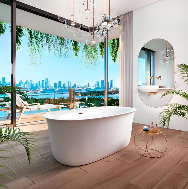 Bainultra Vibe freestanding bathtub