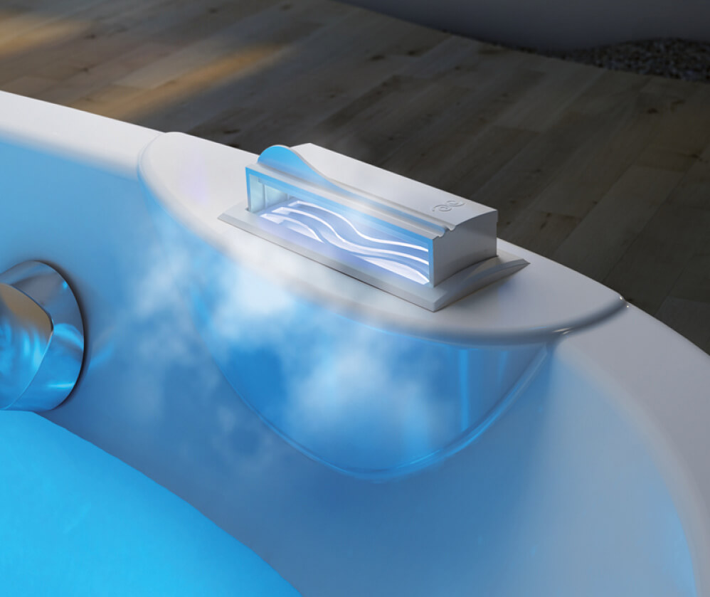 AromaCloud atomizer relaxing bathtub