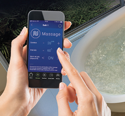BU-Touch hydro thermo massage