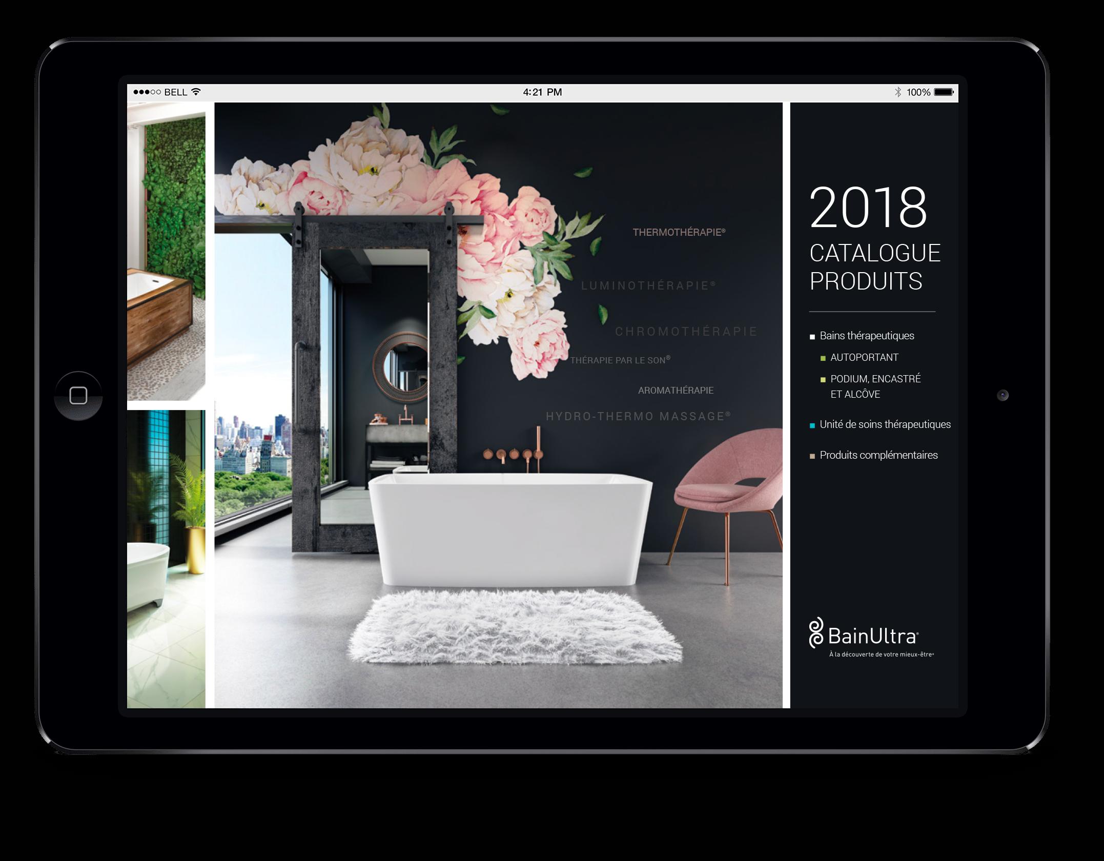 Catalogue de produits 2018
