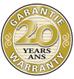 Garantie de 20ans