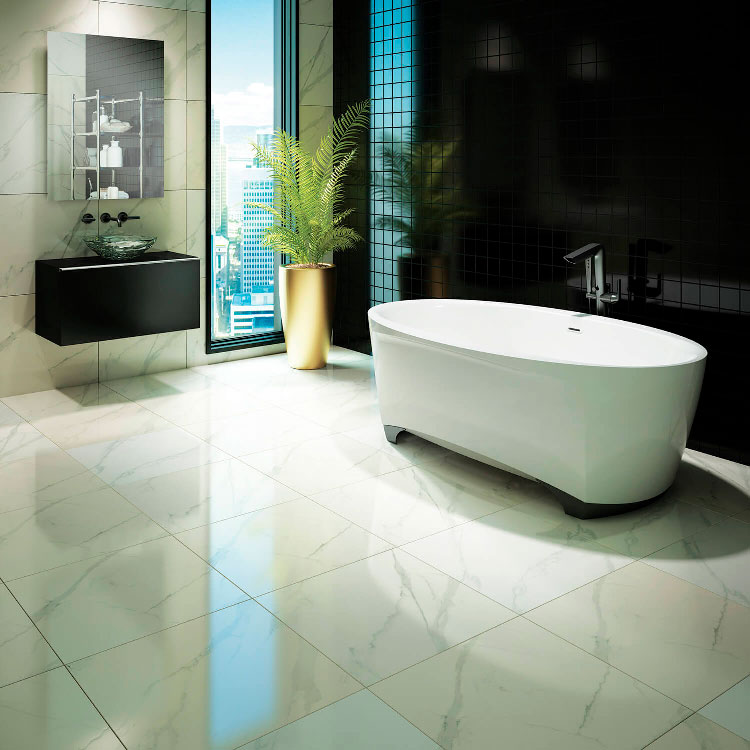Bainultra Scala™ 7242 air jet bathtub for your modern bathroom